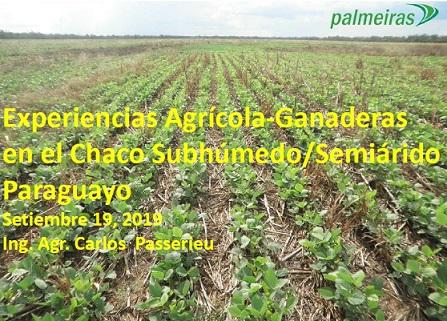 Experiencias Agrícola-Ganaderas en el Chaco subhúmedo-semiárido paraguayo